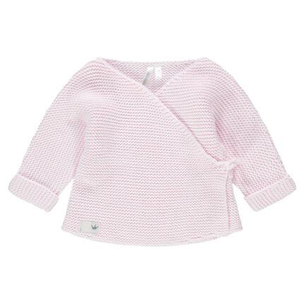 Brassière de naissance en tricot du prématuré au 3 mois