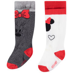 Lot de 2 collants épais Minnie Disney