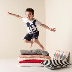 Korte pyjama uit jerseystof met print van ©Disney Mickey