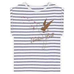 T-shirt met korte mouwen van jerseystof met print van Disney's Minnie
