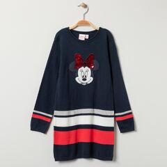 Robe manches longues Minnie Disney et sequins magiques pour enfant fille , Orchestra
