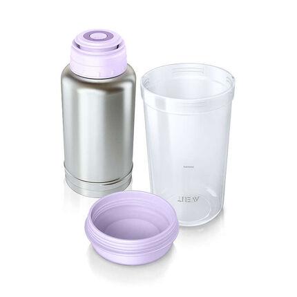 Flessenwarmer voor onderweg -  Wit