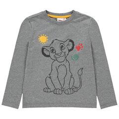 T-shirt manches longues print Simba Disney