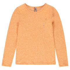Junior - Tee-shirt manches longues effet neige