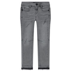 Jeans skinny effet used