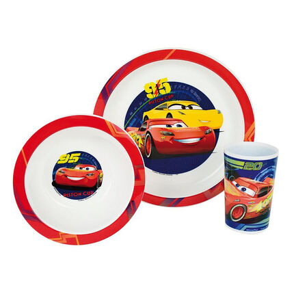 Ontbijtsetje 3 delig - Cars 3