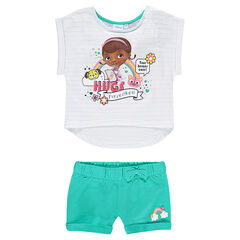 Ensemble de plage tee-shirt et short Disney Docteur La Peluche