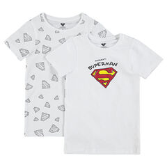 Set met 2 body's met print met logo van ©Warner Superman