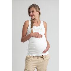 Débardeur de grossesse à motif fantaisie printé