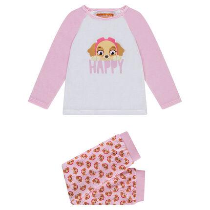 Pyjama van jerseystof met patch Stella - Nickelodeon™ Paw Patrol
