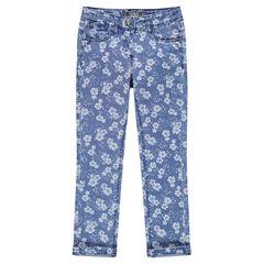 Junior - Jeans slim imprimé
