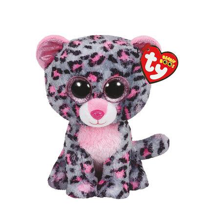 Peluche small 1er age Tasha le Leopard