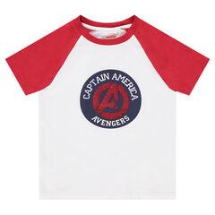 T-shirt met korte mouwen van jerseystof met motief van magische lovertjes van Avengers ©Marvel