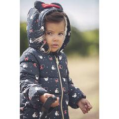Doudoune matelassée à capuche imprimée Minnie Disney pour bébé fille , Orchestra