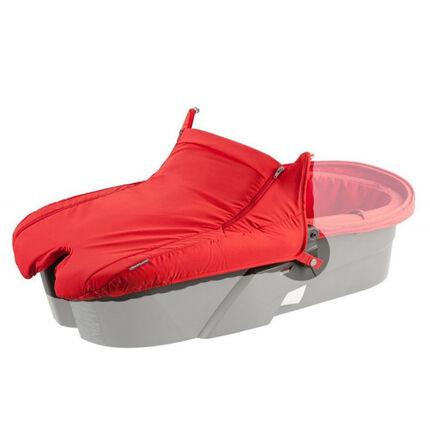 Draagmand textiel - Rood