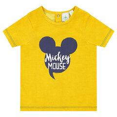 Tee-shirt manches courtes Disney print Mickey