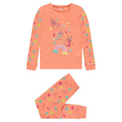 Pyjama en jersey avec licornes printées