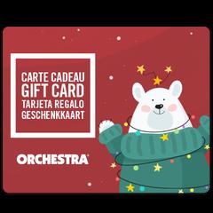 Bied een Orchestra geschenkkaart aan fille