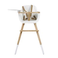 Kinderstoel Ovo Luxe - Wit