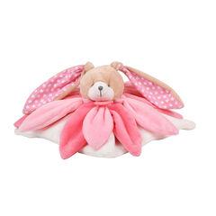 Knuffel doudou collector - Konijn/roze