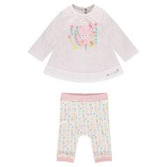 Geboorte-ensemble van tuniek en legging