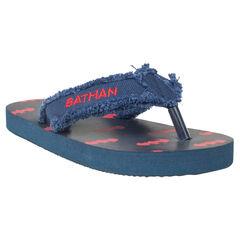BATMAN slippers met afwerking met franjes