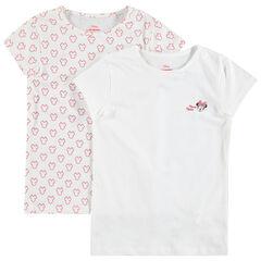 Lot de 2 maillots de corps en coton print Minnie Disney