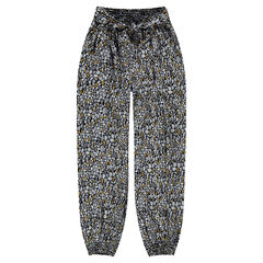 Junior - Pantalon fluide avec imprimé inspiration wax all-over