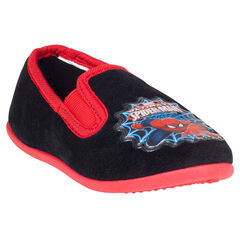Chaussons bas avec patch Marvel Spiderman du 28 au 35