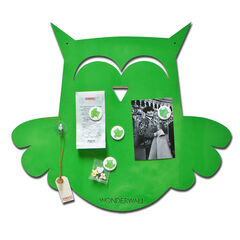 Magneetbord Uil 50 x 60 cm - Lime Green