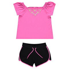 Junior - Ensemble de plage top et short