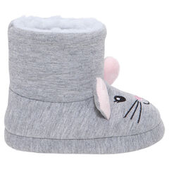 Chaussons bottines forme souris