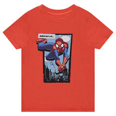 Tee-shirt manches courtes en jersey ©Marvel print Spiderman