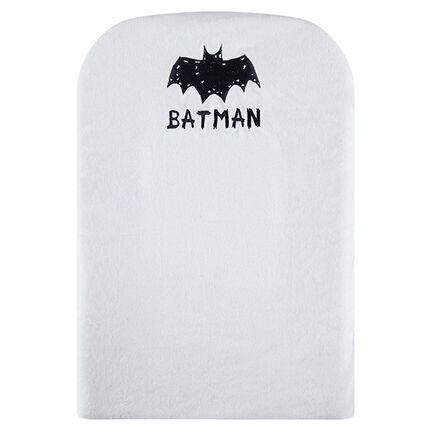 Superman BATMAN overtrek voor verschoonkussen uit badstof