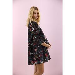 "Wijde zwangerschapsjurk met bloemenprint ""all-over"""