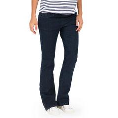 Jeansbroek voor tijdens de zwangerschap tailleband bovenaan