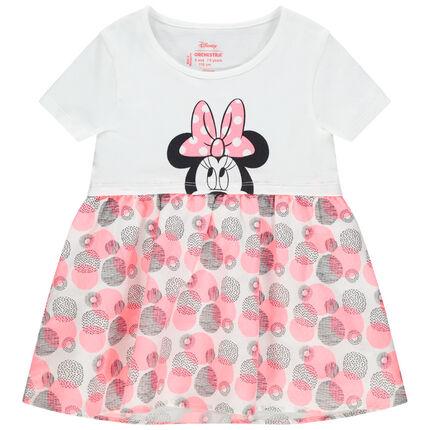 Tunique manches courtes print Minnie Disney et imprimés colorés