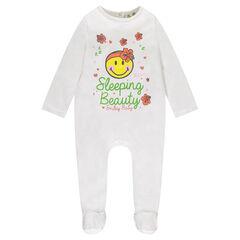 Pyjama uit jerseystof met ©Smiley print