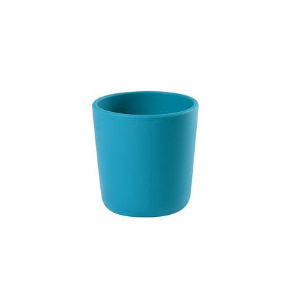 Drinkglas in siliconen - Blauw