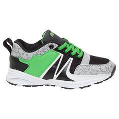 Lage sportieve sneakers met veters