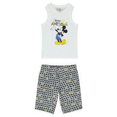Pyjama court en jersey Disney Mickey