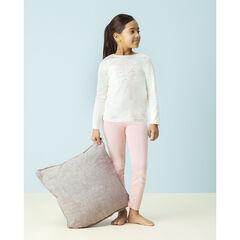 Pyjama en jersey bicolore avec personnage printé