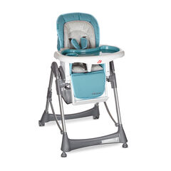 Chaise haute Luxe Métal - Turquoise