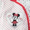 Dors-bien en velours imprimé all-over avec patch Minnie