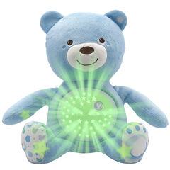 Knuffel projector First Dreams Baby Bear - Blauw