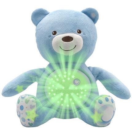 Ourson projecteur First Dreams Baby Bear - Bleu