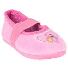 Pantoffels in roze kleur patch Disney