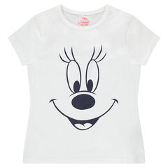 T-shirt met korte mouwen met print van Minnie ©Disney
