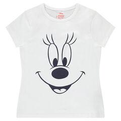 Tee-shirt manches courtes avec print Minnie ©Disney
