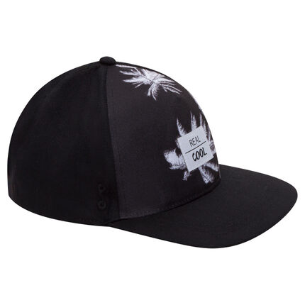 Junior - Casquette US en twill avec sublimation palmiers